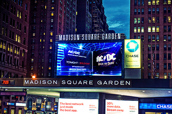 Madison square garden radio city more hit by credit - Madison square garden to times square ...