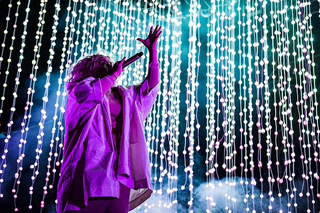 Purity Ring at Sound on Sound Fest 2016 - Saturday