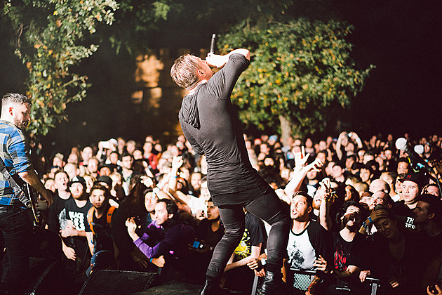 Dillinger Escape Plan at Sound on Sound Fest 2016 - Saturday