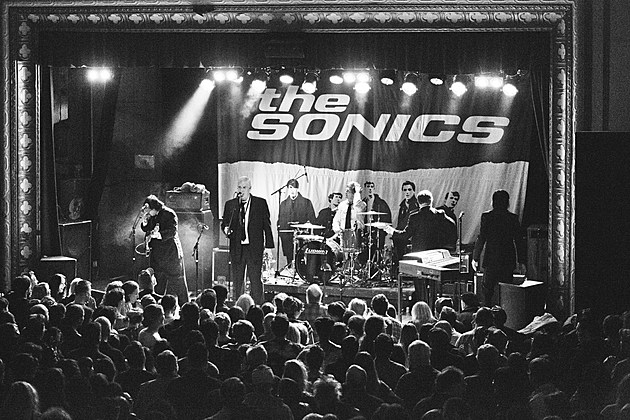 The Sonics at Warsaw
