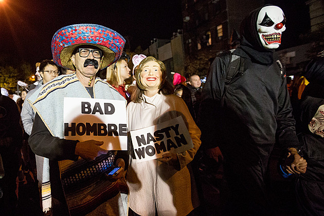 More pics from the 2016 NYC Village Halloween Parade