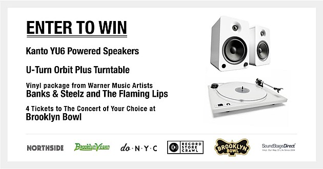 Win A Turntable Speakers Vinyl Amp Tickets To A Show At