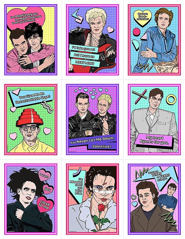 Send Cure Smiths Bowie Siouxsie Stranger Things Other