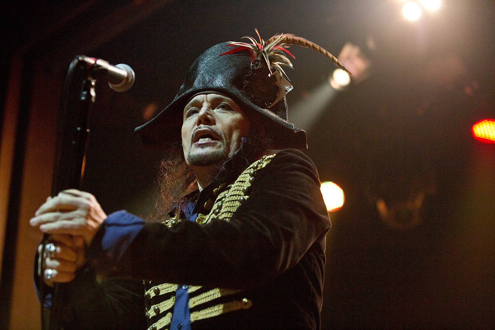 Adam Ant Us Tour 2020 Adam Ant playing 'Friend or Foe' on 2019 North American tour