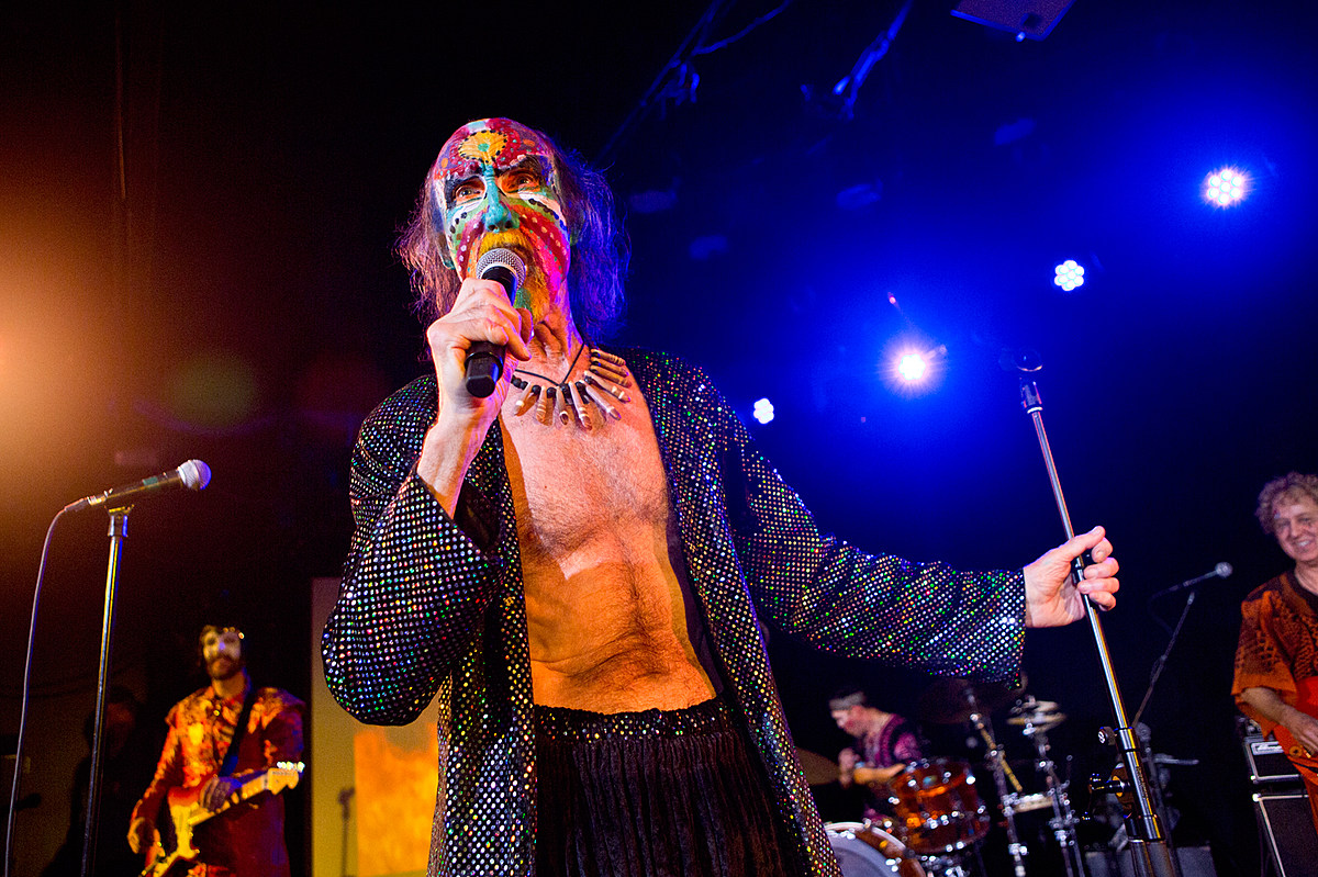 The Crazy World of Arthur Brown playing NYC after Psycho Las Vegas