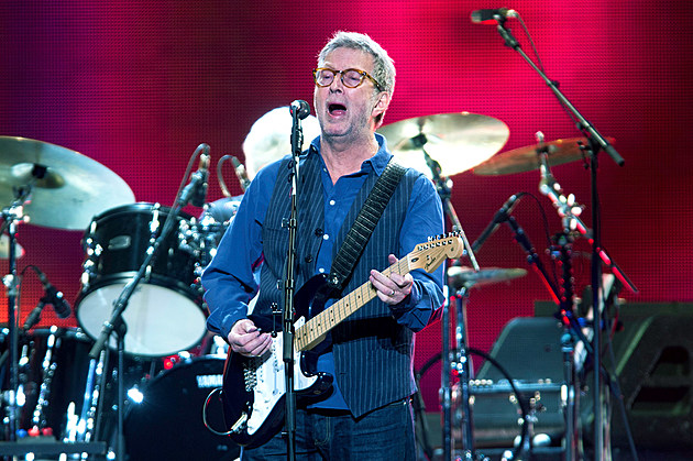 Eric Clapton at Madison Square Garden