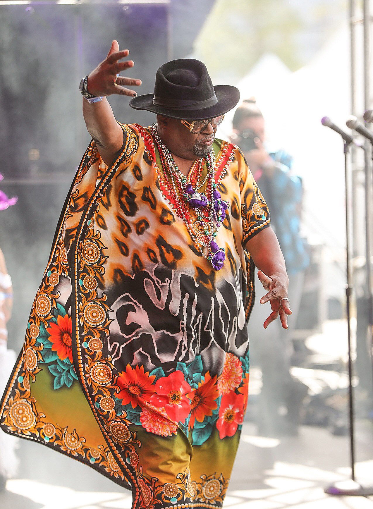 George Clinton at Okeechobee Festival