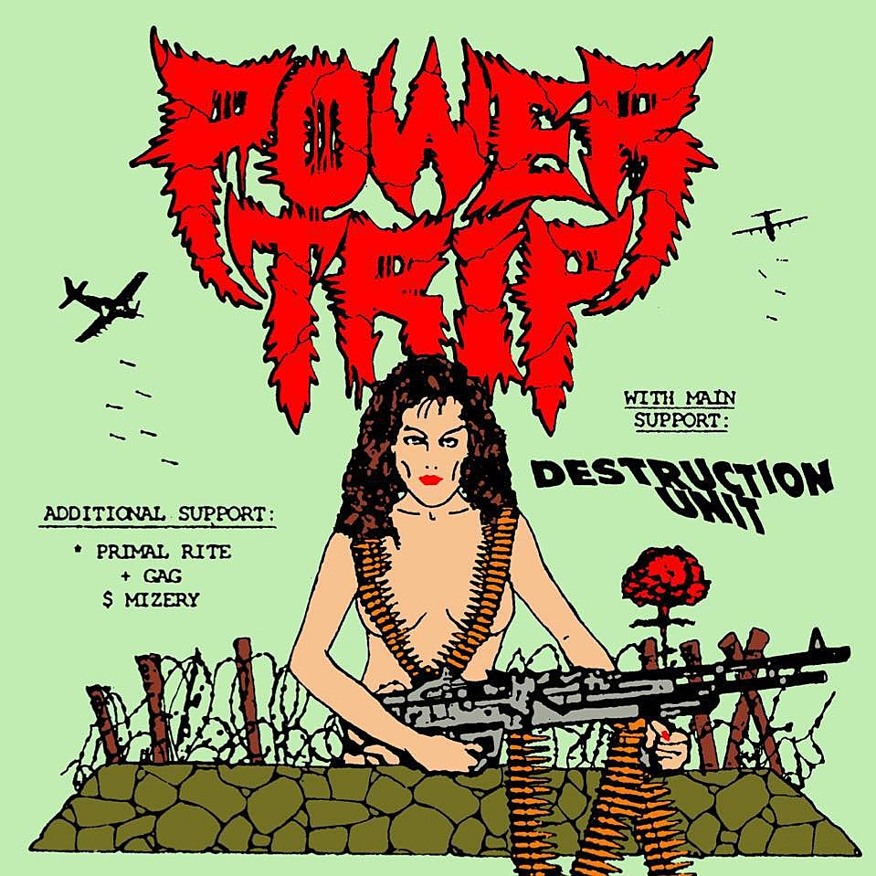 Power Trip Release Executioner S Tax Swing Of The Axe