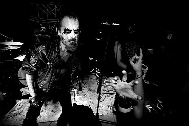 Taake at Saint Vitus in March 2016 (more from Mathieu Bredeau)