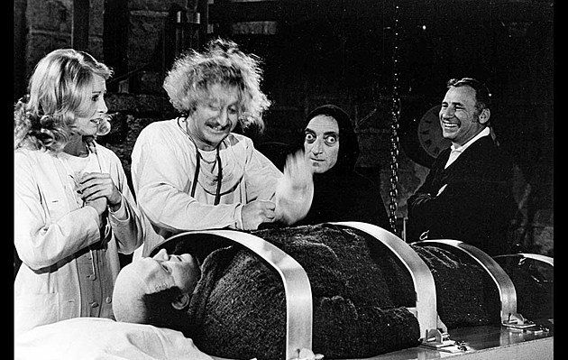 Mel Brooks Showing Young Frankenstein At Njpac W Q A