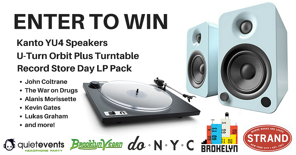 WIN a Turntable, Speakers & Record Store Day Vinyl