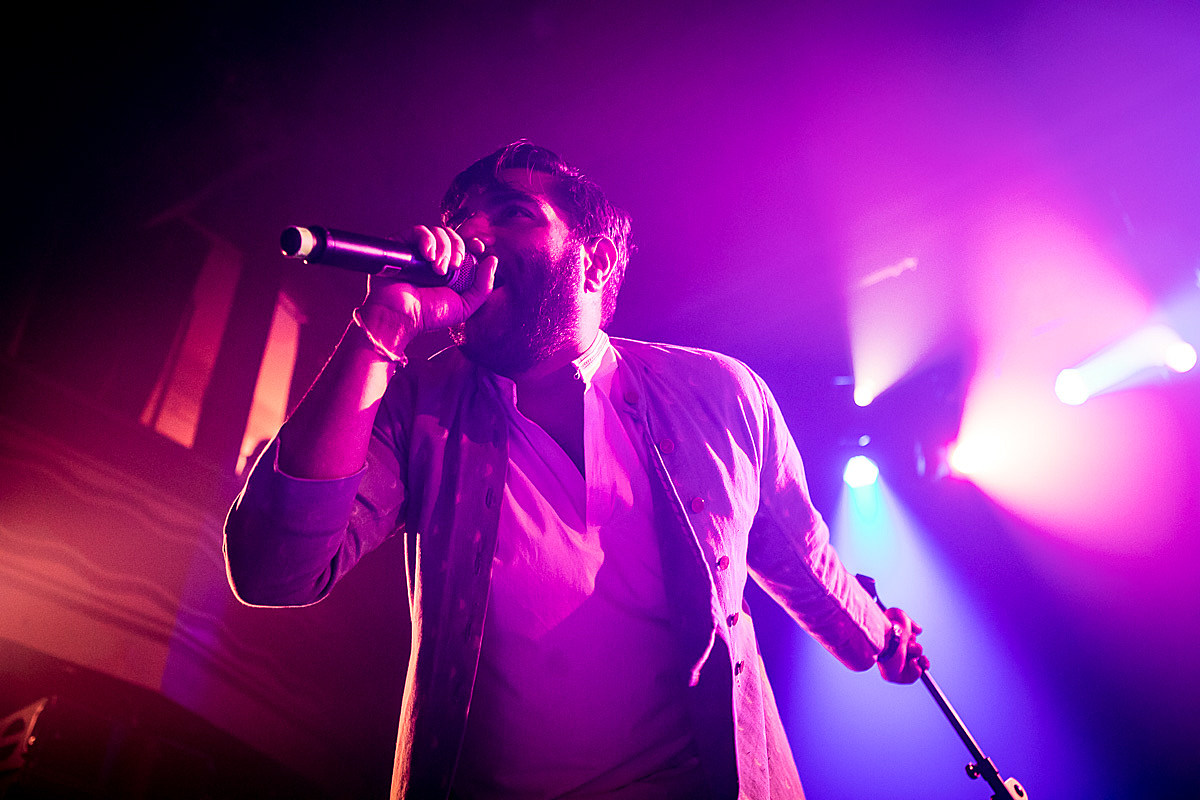 Heems with Swet Shop Boys at Webster Hall earlier this month (more by Sachyn Mital)