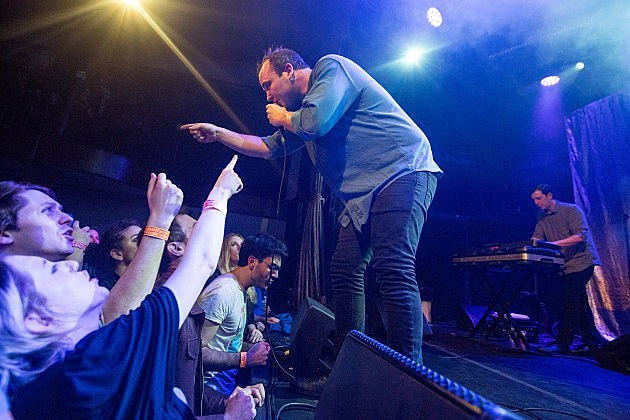 Future Islands at Bowery Ballroom in March (more by Amanda Hatfield)