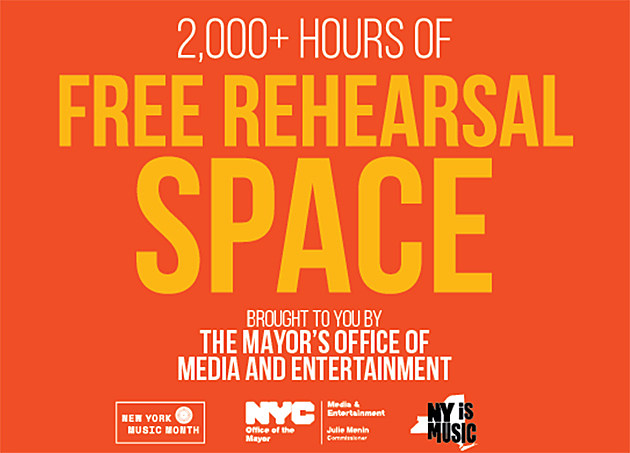 Free Rehearsal Space
