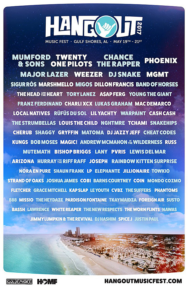Frank Ocean replaced by Phoenix at Hangout Fest (updated lineup)