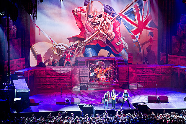 Iron Maiden at Prudential Center