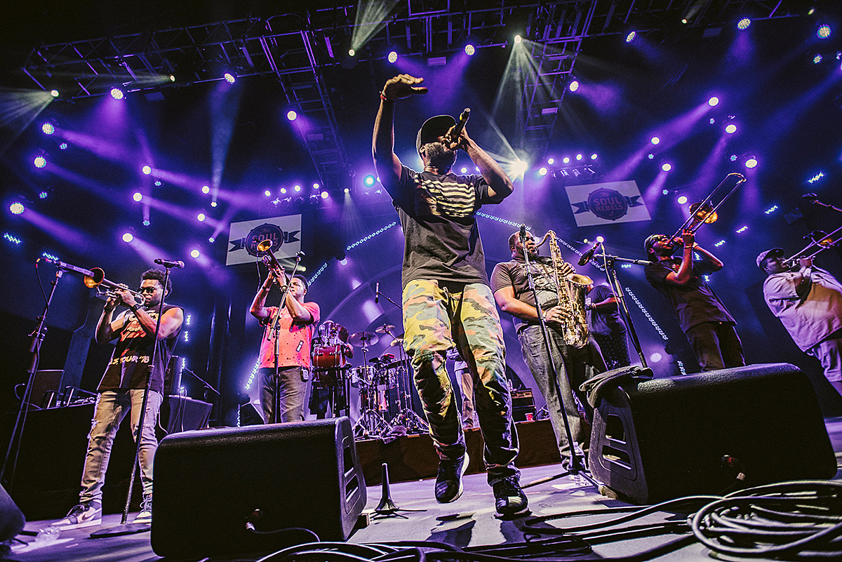 The Soul Rebels at BRIC Celebrate Brooklyn! Festival