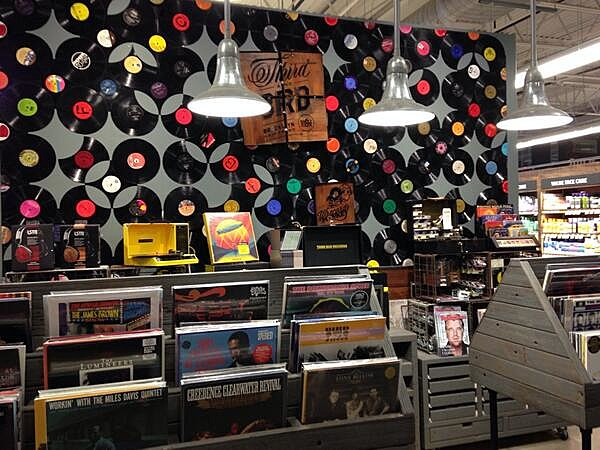 Third Man Records @ Whole Foods Brooklyn, 2014 (via @danalipnickas)