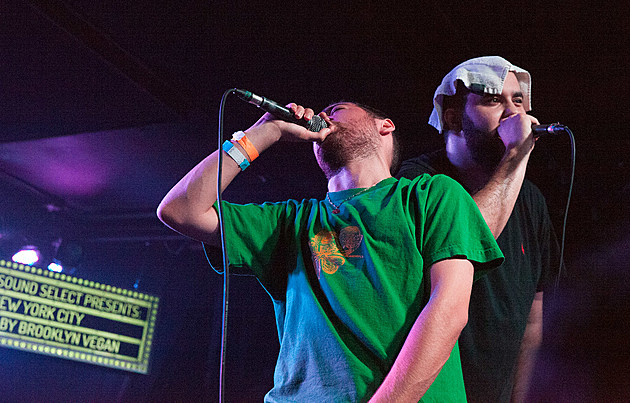 Wiki and Your Old Droog at Knitting Factory