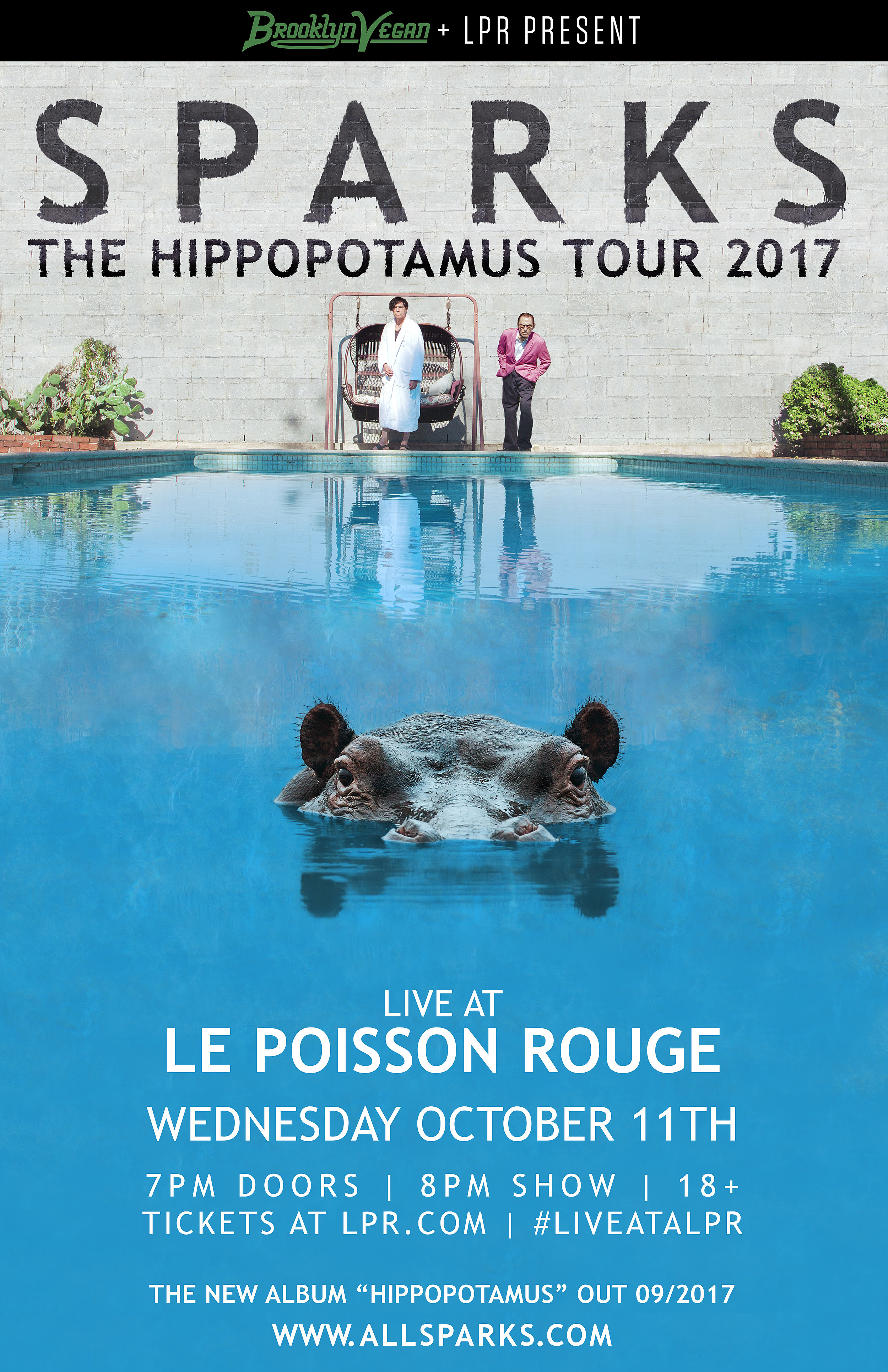 Sparks touring with full band this fall, playing Le Poisson Rouge ...