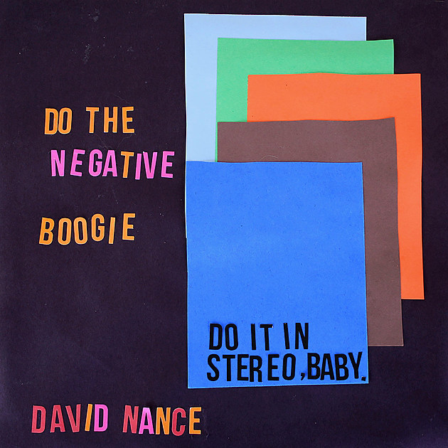David Nance Negative Boogie