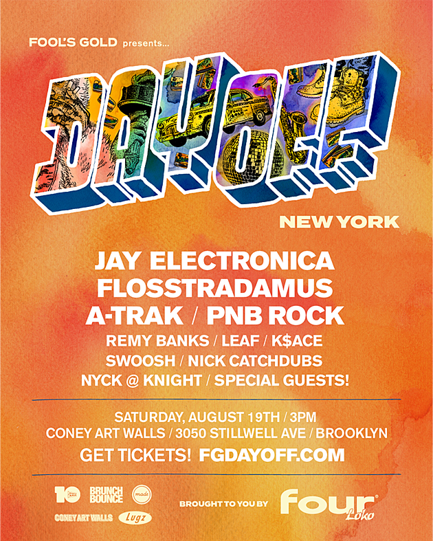 Fool's Gold Day Off 2017 NYC lineup & location