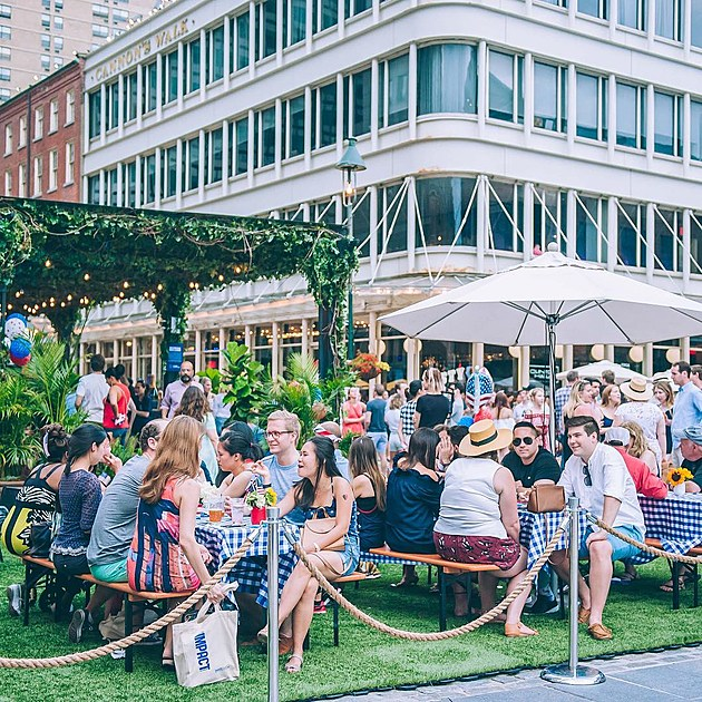 The Garden Bar at South Street Seaport