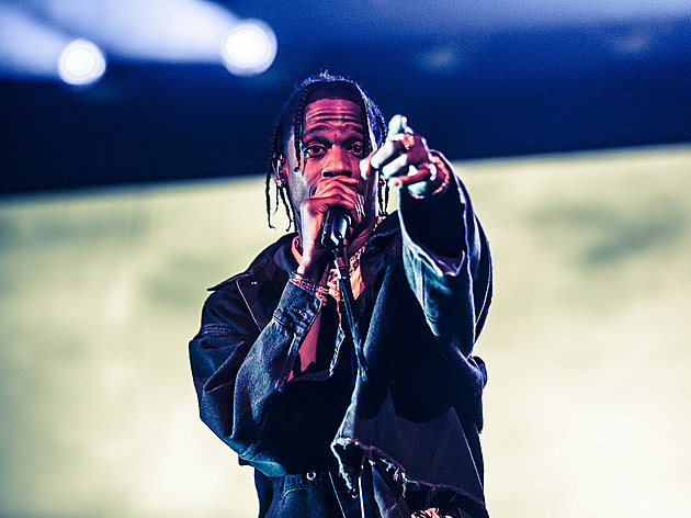 Travis Scott at Barclays Center