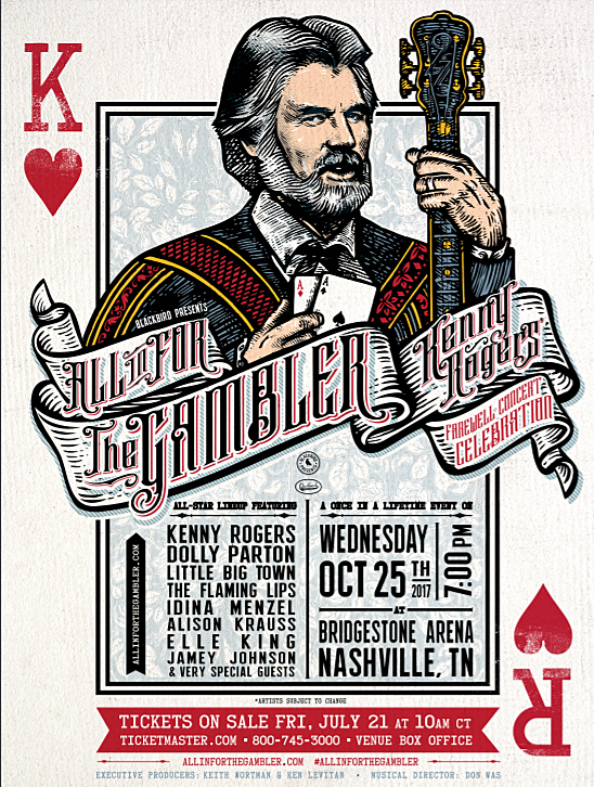 Kenny Rogers retiring, playing farewell concert with Dolly Parton ...