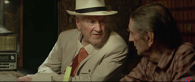 David Lynch & Harry Dean Stanton in 'Lucky.'