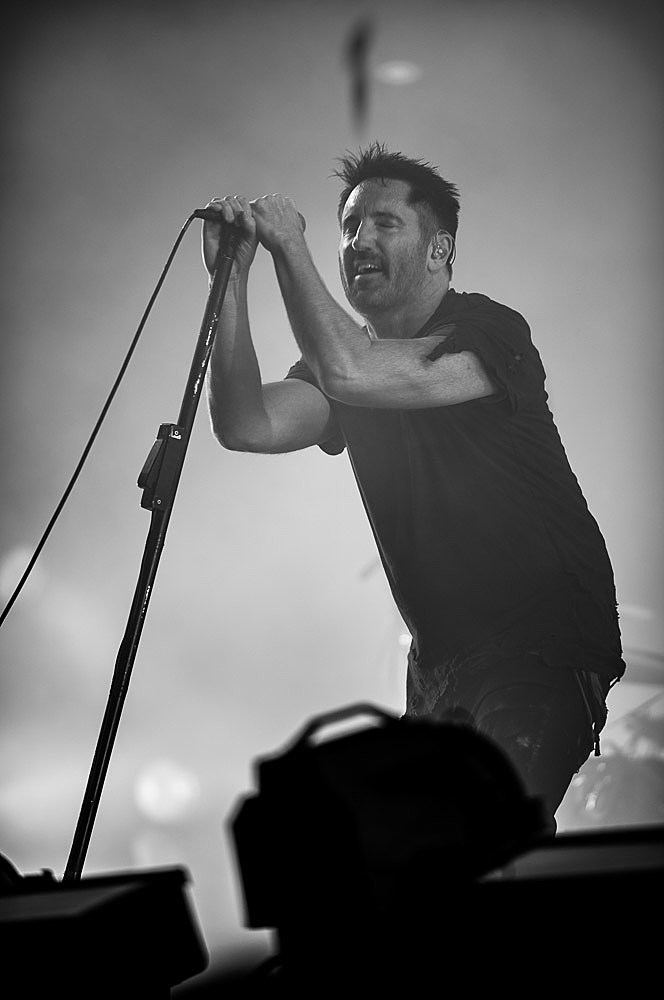 Trent Reznor / Nine Inch Nails at NYC festival Panorama 2017 ...