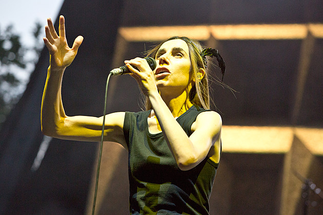 PJ Harvey at Central Park SummerStage