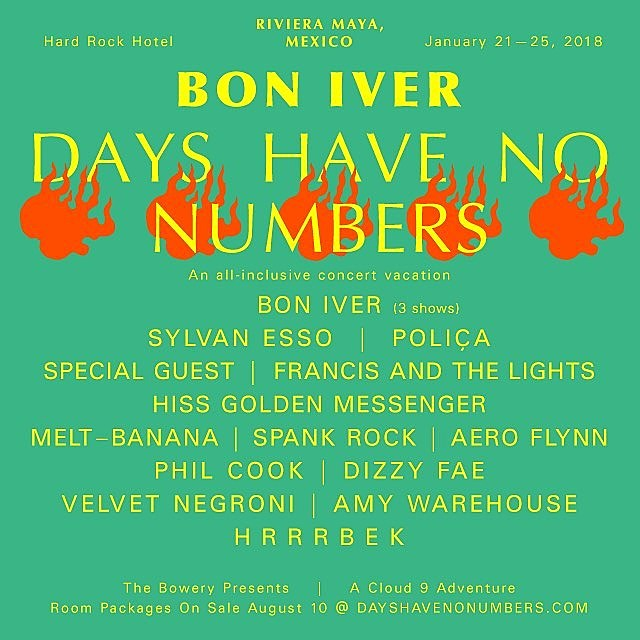 Bon Iver Mexican Vacation
