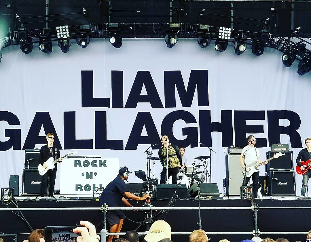Liam Gallagher at Lollapalooza