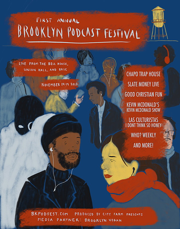 Brooklyn podcast festival