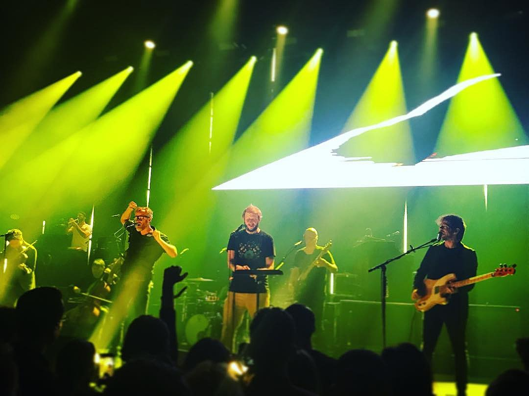 The National @ Sounds from a Safe Harbour fest (photo by @eiliskellywelly)