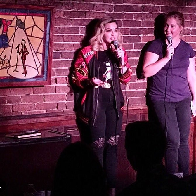 Madonna, Amy Schumer, Jon Stewart, Aziz, Louie & more played Comedy Cellar