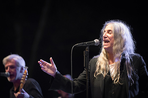 Patti Smith at Central Park SummerStage