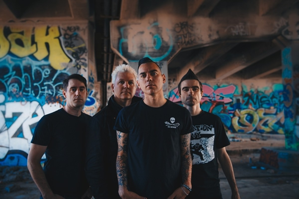 Anti-Flag prep LP, touring w/ Stray From the Path, The White