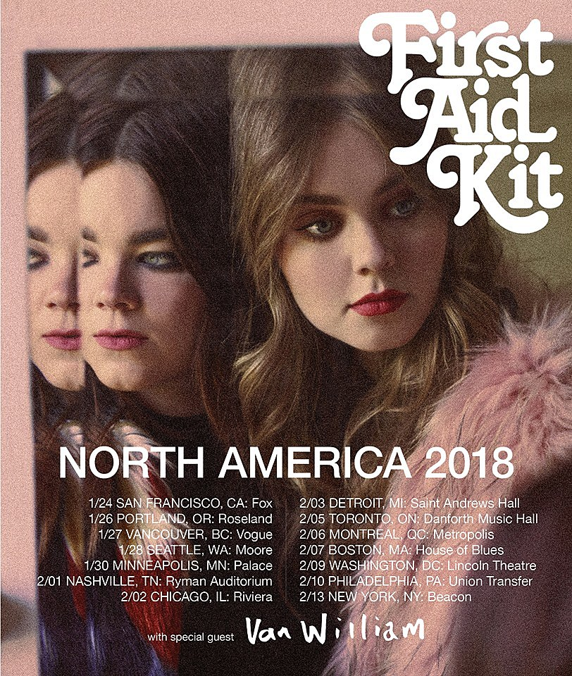 first aid kit share  u201cit u2019s a shame u201d video  announce 2018