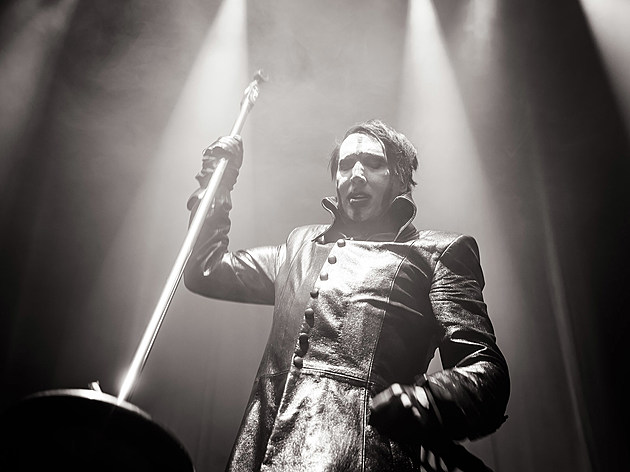 Marilyn Manson at Hammerstein Ballroom