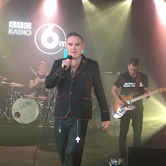 Moz at The Beeb (photo by @lkjlj)