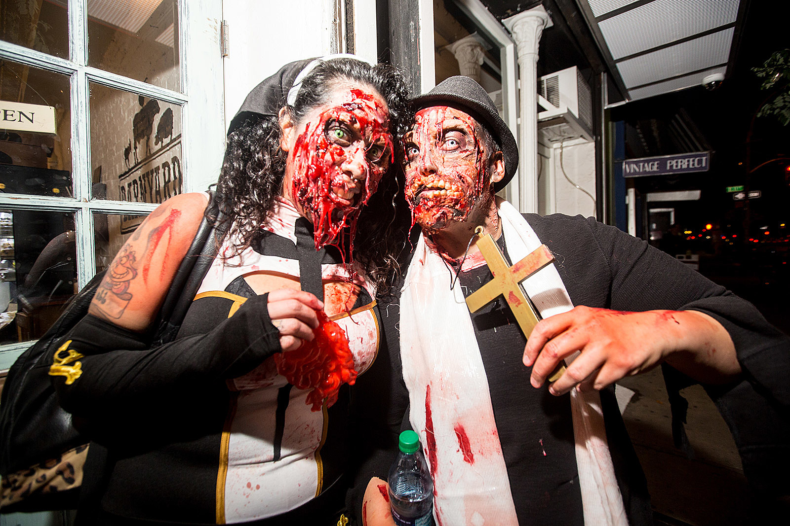 "2017 nyc halloween events: village (and dog) parade, gwar, ""haunted"