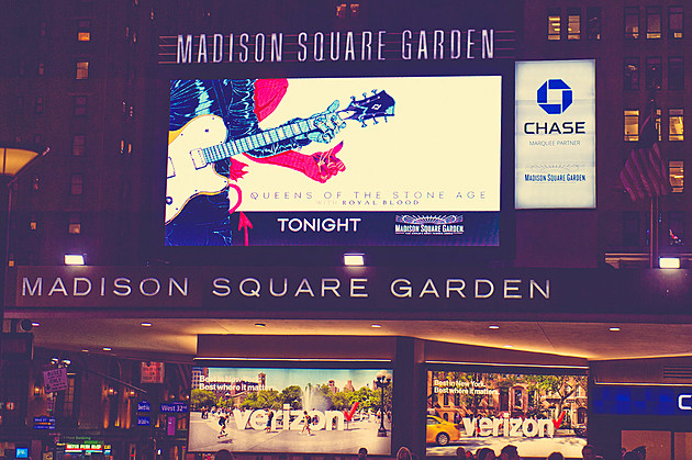 Queens of the Stone Age at Madison Square Garden