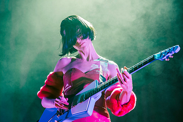 St. Vincent at Paramount Pictures Studio for Red Bull Music Academy