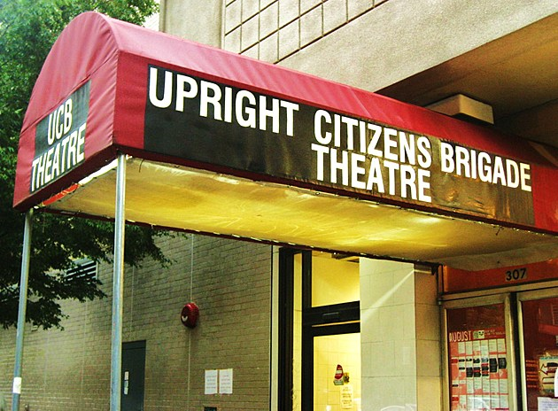 The current W. 26th St location of UCB Theatre