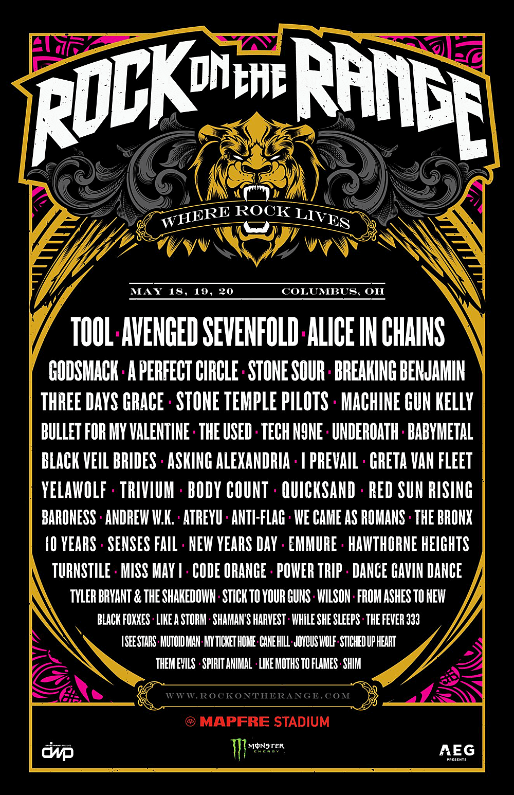 rock on the range 2018