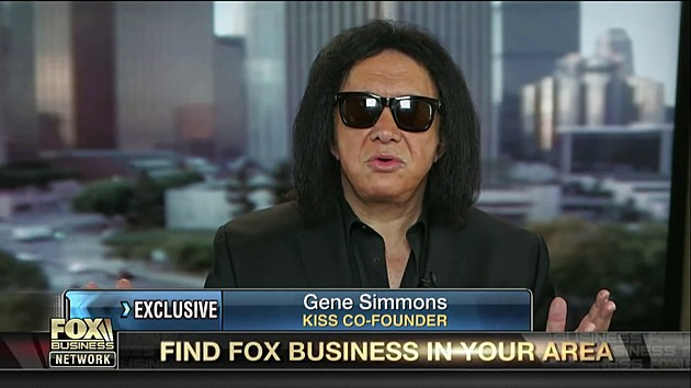 Gene Simmons of Kiss banned for life from Fox News