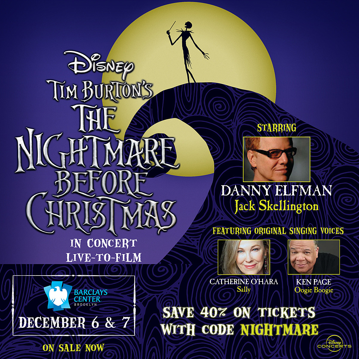 get discount tix to this week\'s \'Nightmare Before Christmas\' Live w ...