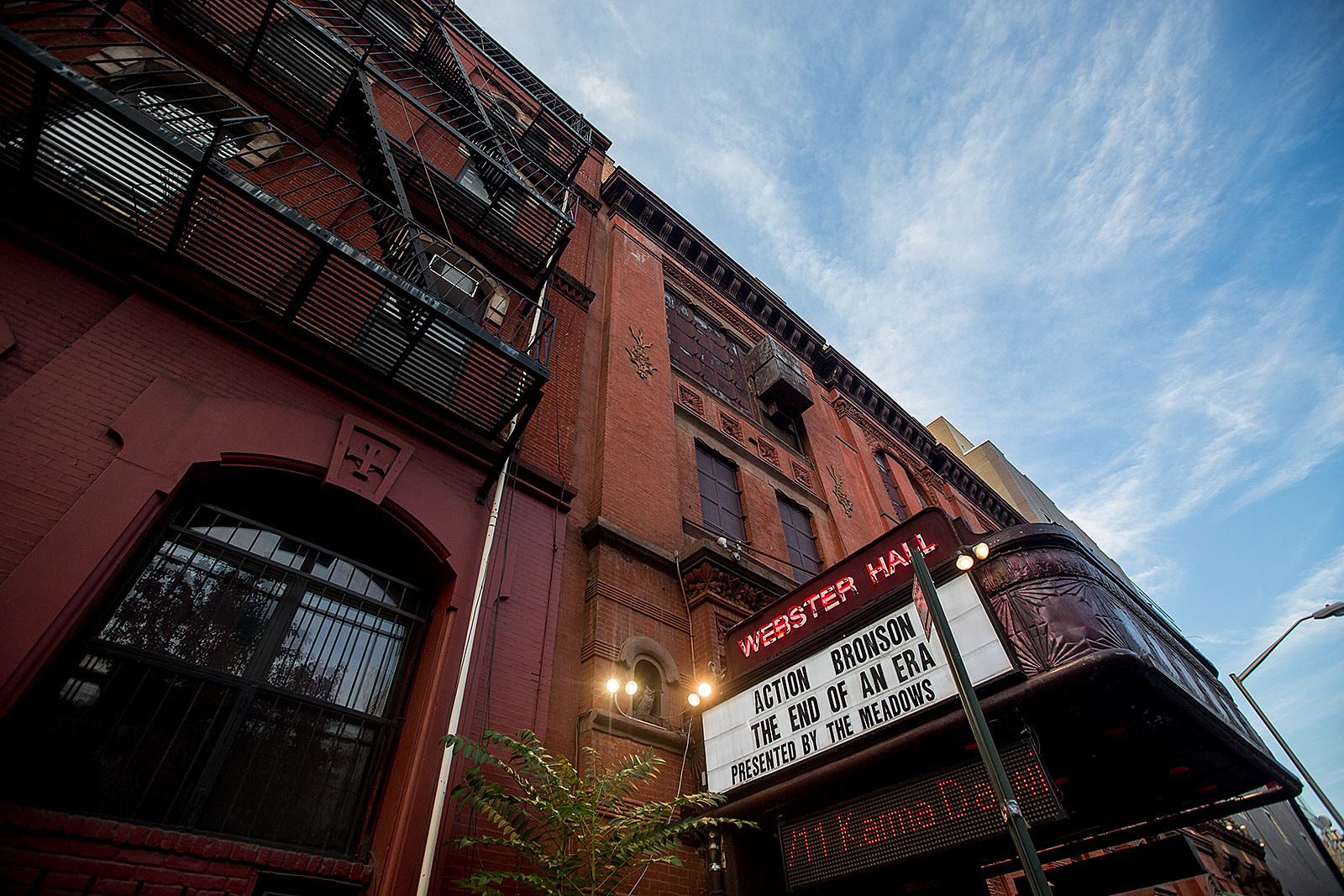 The End of an Era at Webster Hall